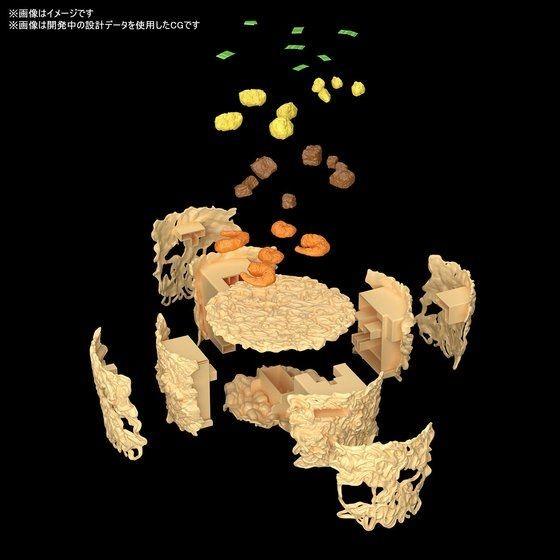 ▲▼日清泡麵模型(圖/翻攝自萬代官網)