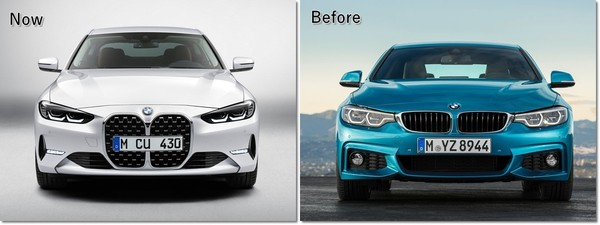 大鼻孔水箱护罩造就极致散热效果 BMW G22世代4系列正式亮相(图/翻摄自BMW)