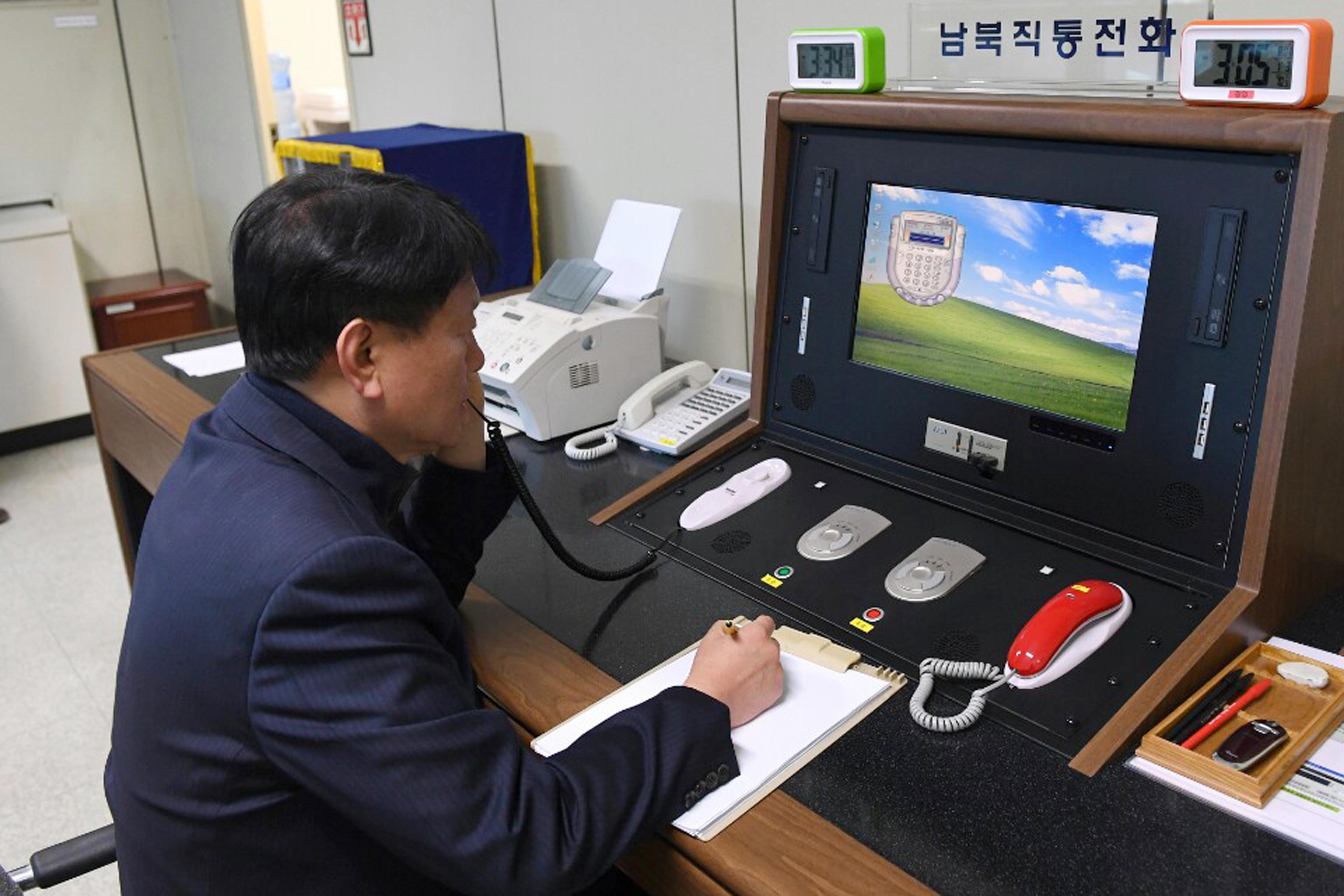 ▲▼北韓宣布停止對兩韓間所有聯繫頻道。(示意圖/達志影像/美聯社)