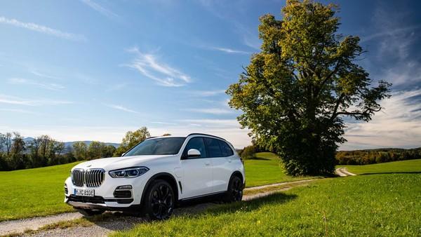 ▲2021 BMW X5 xDrive45e。(圖/翻攝自BMW)