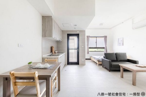 ▲桃園「八德1號」社會住宅7月開始申請。(圖/市府提供)