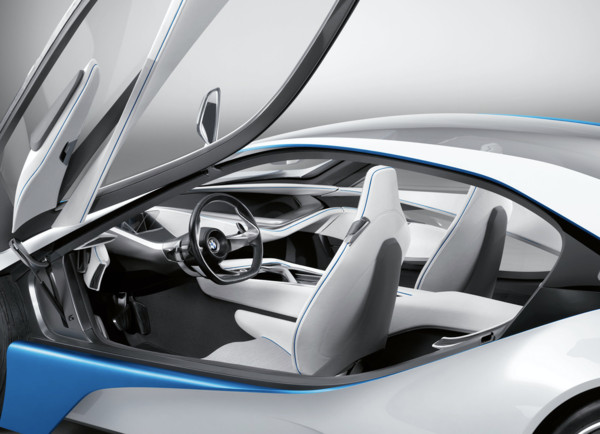 ▲2009 BMW EfficientDynamics Concept概念車。(圖/翻攝自BMW)