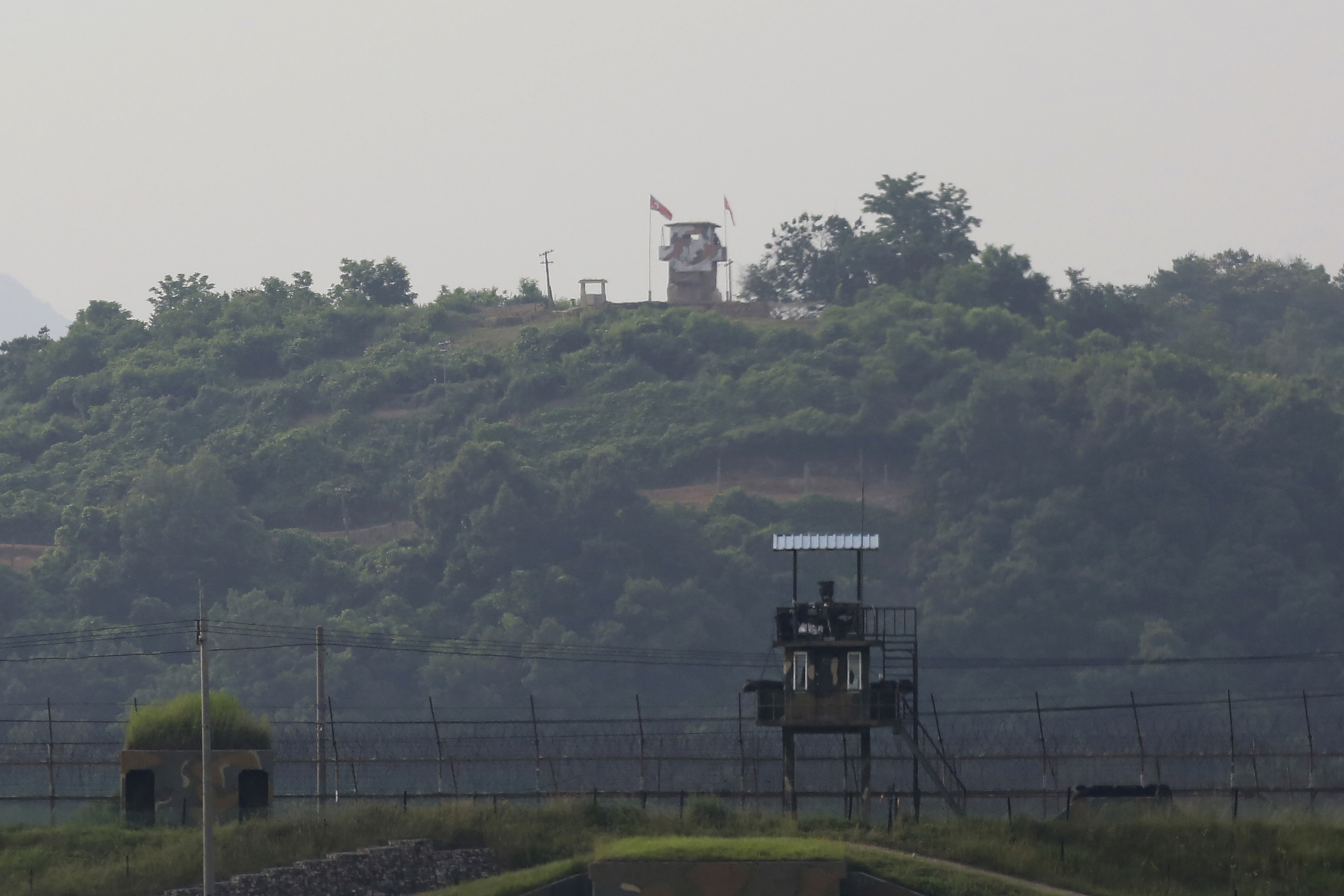 ▲▼北韓炸毀韓聯辦,助長朝鮮半島緊張局勢。(圖/達志影像/美聯社)