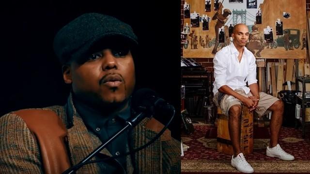 ▲▼美國雜誌找來兩位非裔藝術家繪製封面(左:卡普哈 /右:納爾遜)。(圖/翻攝自Kiwi/Instagram_kadirnelson)
