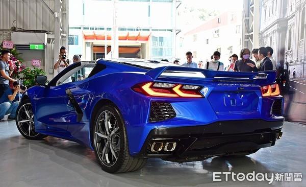 雪佛兰Corvette C8在台现踪!「狂暴魟鱼」层峰车主抢破头(图/记者游铠丞摄)