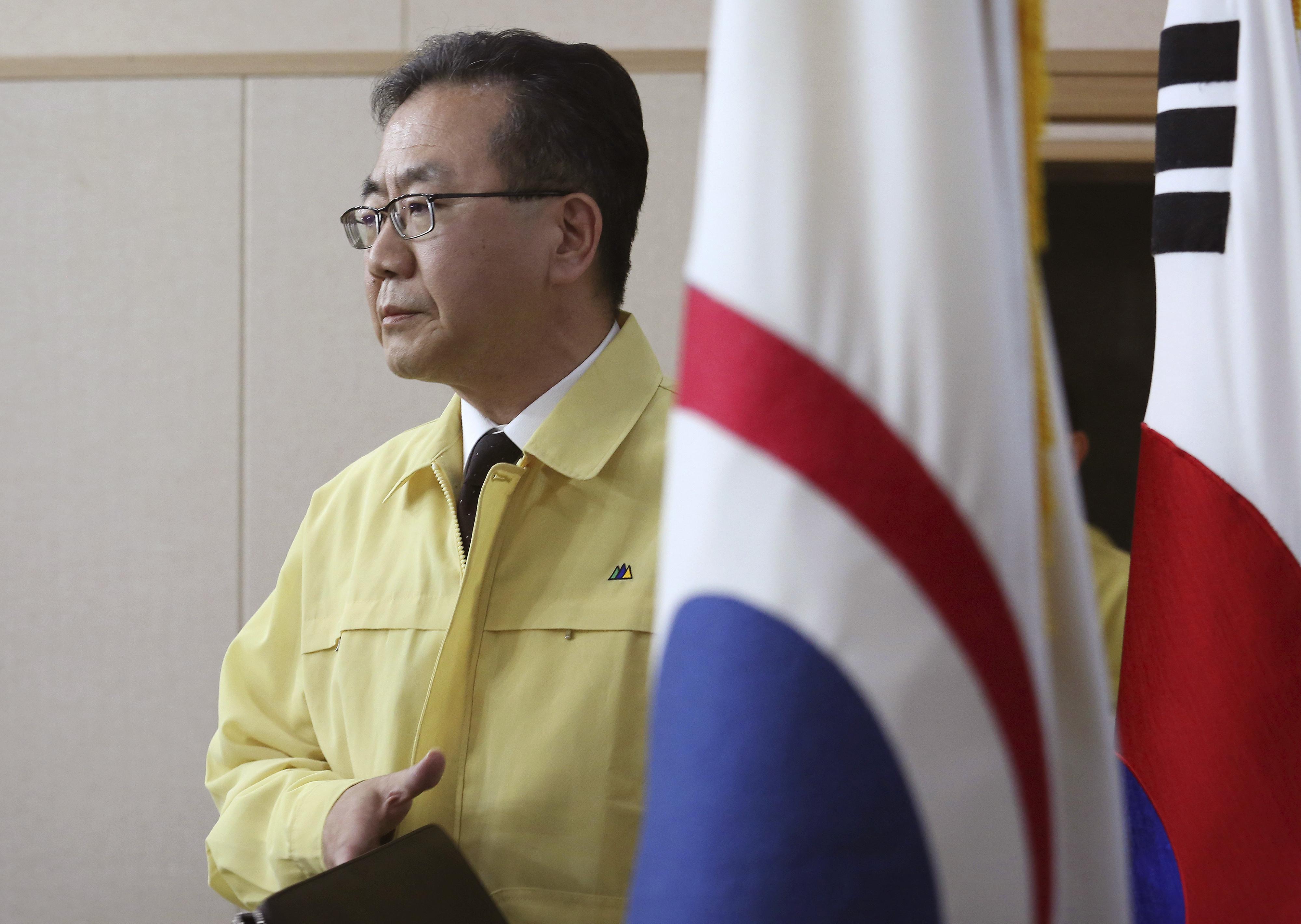 ▲▼南韓外交部發言人金仁澈,發表關於港版國安法通過之立場。(資料照/達志影像/美聯社)