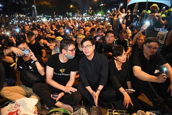 陳其邁出手關注香港議題 黨政人士:要讓李眉蓁、吳益政接招!