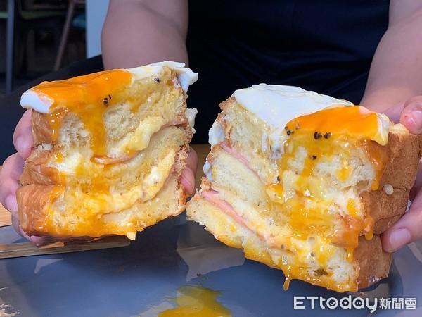 宜蘭老屋改建童趣早午餐!自製太陽蛋布里歐吐司 熔岩半熟蛋流下超欠吃 |