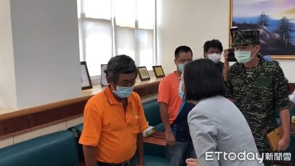漢光預演意外傳出好消息 蔡英文:阿瑪勒中士恢復自主呼吸