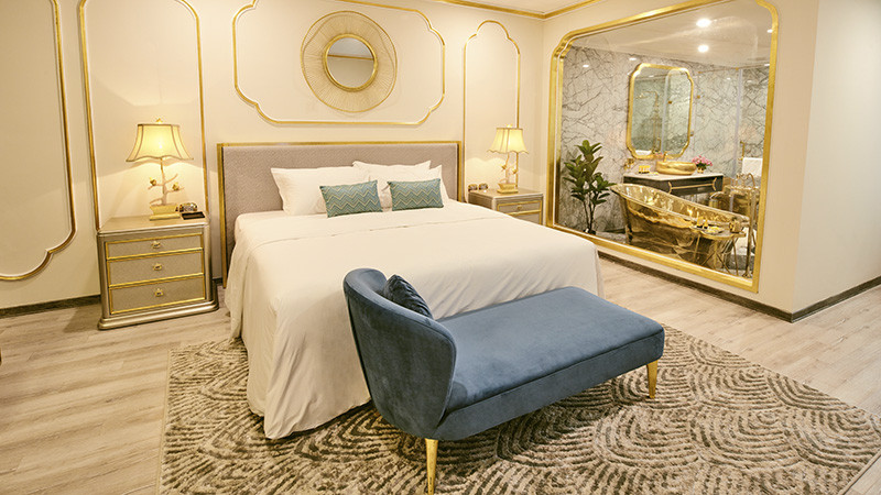 ▲▼越南金湖飯店Dolce Hanoi Golden Lake luxury hotel(圖/翻攝自官網)