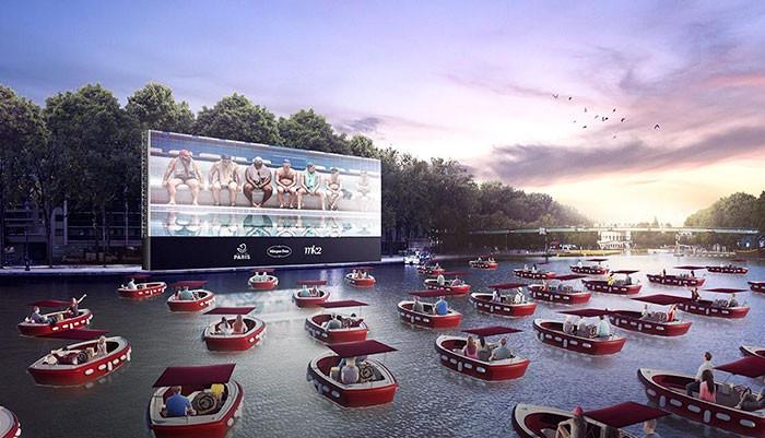▲▼法國巴黎7月18日將推出「漂浮電影城」。(圖/翻攝自Paris.fr)