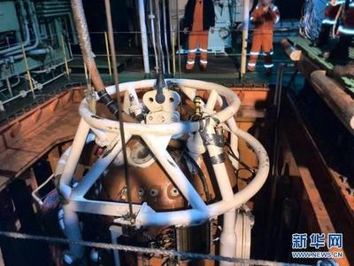 大陸在南海進行飽和潛水作業 首次突破300公尺