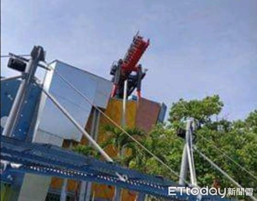 快訊/台中麗寶樂園斷軌列車故障! 20遊客卡「35米高空」驚聲尖叫