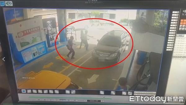 快訊/基隆警加油站圍捕通緝犯!他下秒開車衝撞 警急開槍追捕中