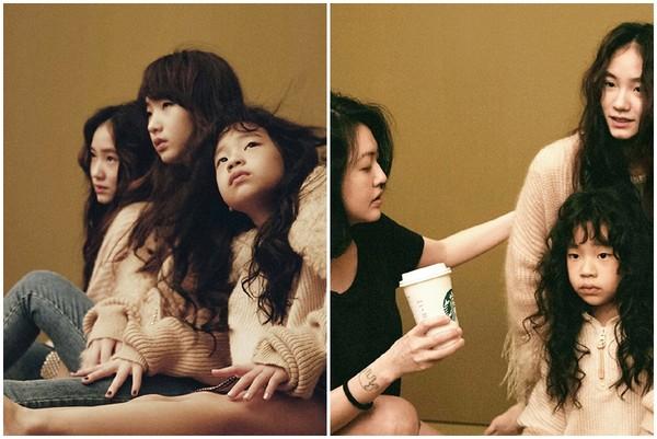 3女兒合體拍時尚照! 小S「卡進Elly、Lily中間」超有氣勢…網友往下一看笑翻