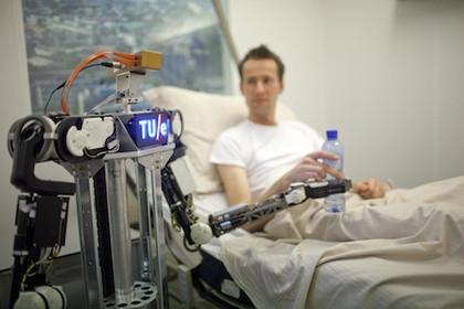 RoboEarth,機器人,數據庫,雲端,學習