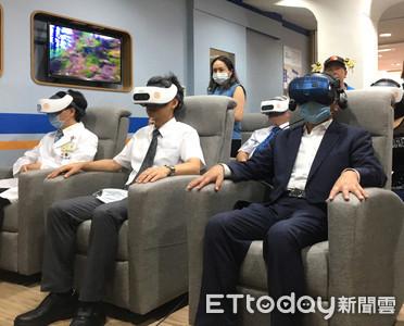 北醫附設悅心長照暨早療中心開幕 引進宏達電VR設備提供輔療課程