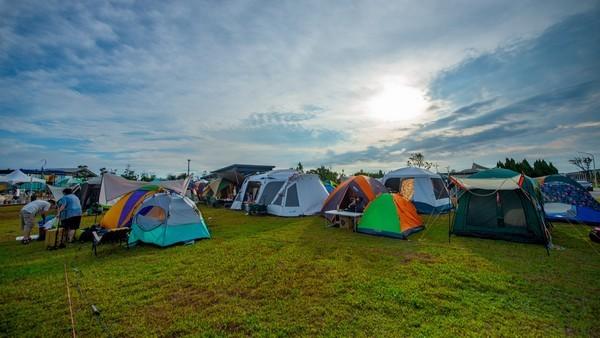 桃園「來去農博野一夏」湧入2000人 3幸運民眾免費入住百萬露營車  