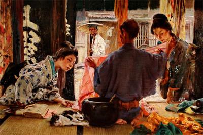 2百年前美國人筆下江戶 日本人驚艷