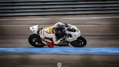 麗寶賽車場「台灣重機車手最速紀錄」再次推進!一樣是他挑戰成功