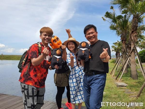龜山島上有「龍」! 林佳龍、蔡阿嘎登島拍宣傳片   ETtoday新聞雲