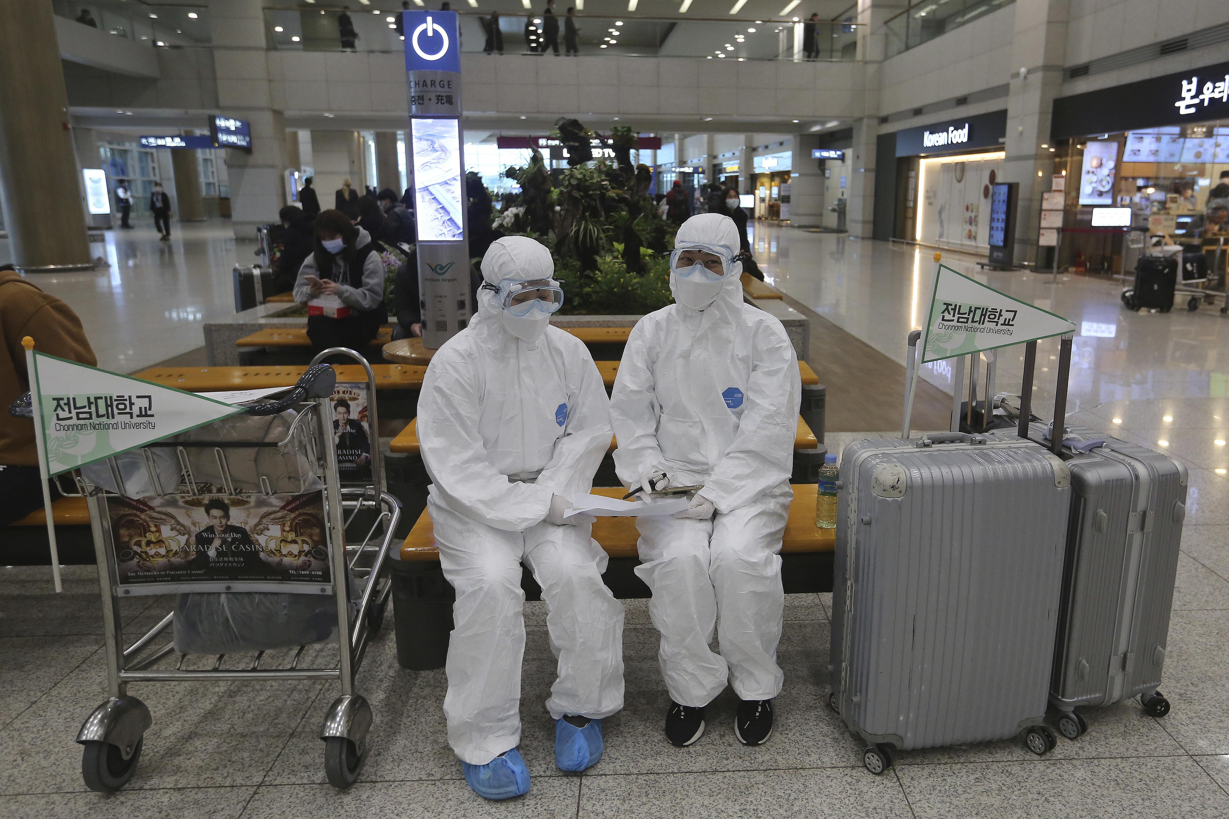 ▲▼近來南韓新冠肺炎境外移入案例暴增。(圖/達志影像/美聯社)