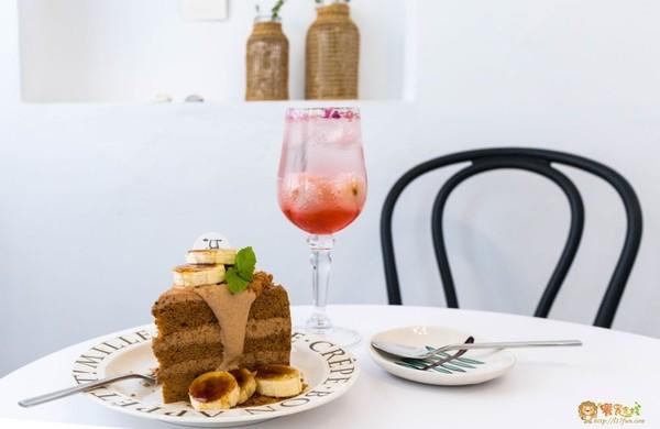 高雄約會聖地!50年私藏老宅咖啡廳 饕客必嚐炙燒香蕉泰奶蛋糕 | ETt