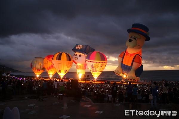 太麻里曙光光雕音樂會 湧進3萬6千遊客