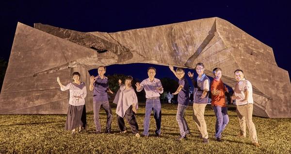 閃亮北海岸「光,和_作用」開幕夜 朱銘美術館絢爛光雕饗宴繽紛登場