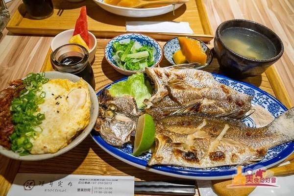 白飯、熱湯免費續!高雄平價定食 炙烤鱸魚+半熟蛋拌飯太邪惡   ETto