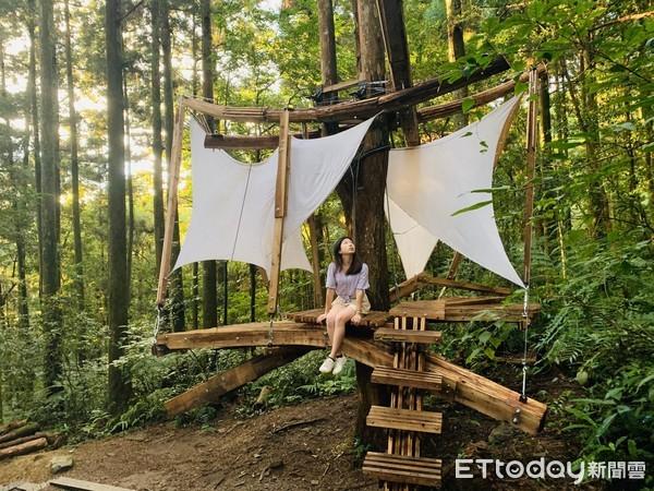 森林中的方舟!東眼山3藝術品超仙...好像「龍貓會跳出來」 | ETto