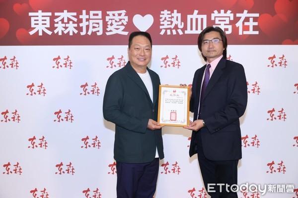 東森不只做生意!王令麟公益號召救血荒 逾300人挽袖捐熱血響應 | ET