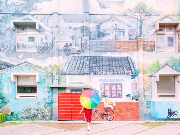 免門票!新竹懷舊眷村博物館 必拍繽紛彩繪牆+復刻街景 | ETtoday