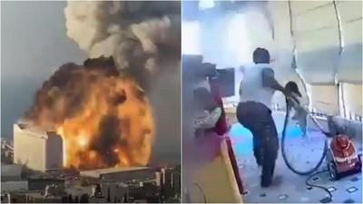 大爆炸發生一刻…非裔幫傭一個舉動 黎巴嫩「沒有翅膀的天使」網讚翻!