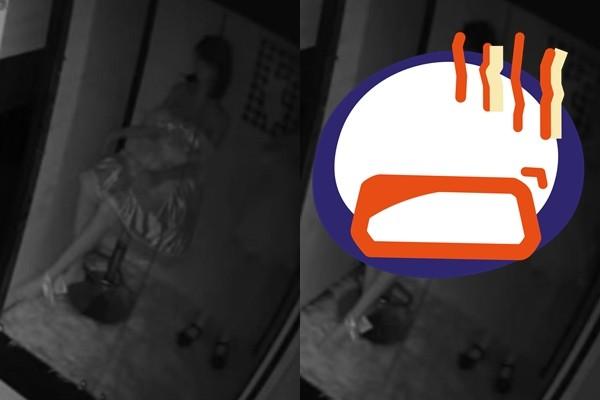 影/情趣用品掉一地!女店員調監視器…見等身娃娃半夜「轉身看鏡頭」嚇壞