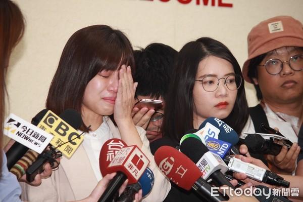黃郁芬、林穎孟淚訴黨同伐異 調查徐永明竟要簽本票