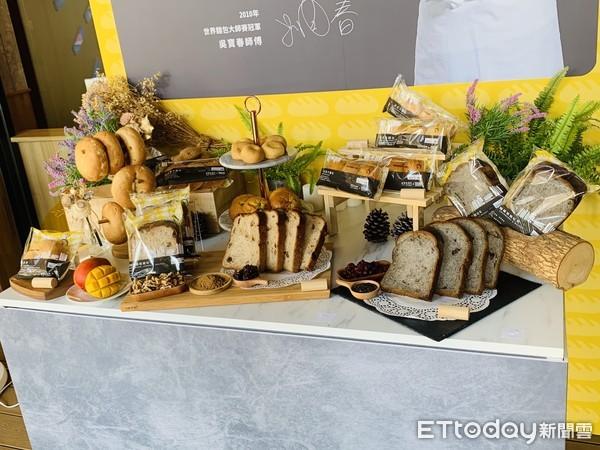 全聯首度聯名吳寶春!「魔術手」打造5款獨家麵包 千家門市開賣 | ETt