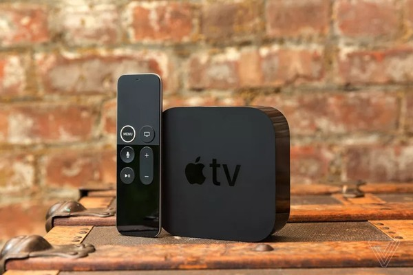 ▲Apple TV。(圖/取自THE VERGE)