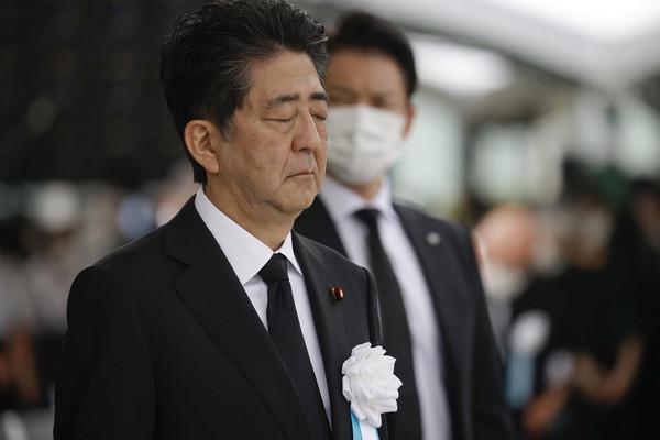 廣島原爆75週年…安倍出席紀念儀式 重申「不簽禁止核武器條約」