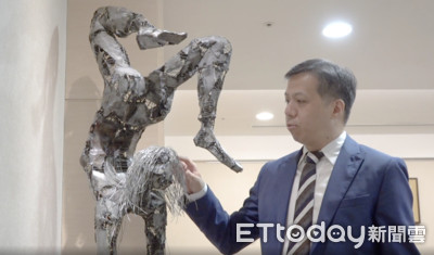 康和證董事長鄭大宇專訪/辦公室有如藝展空間 收藏陳列各國藝術品