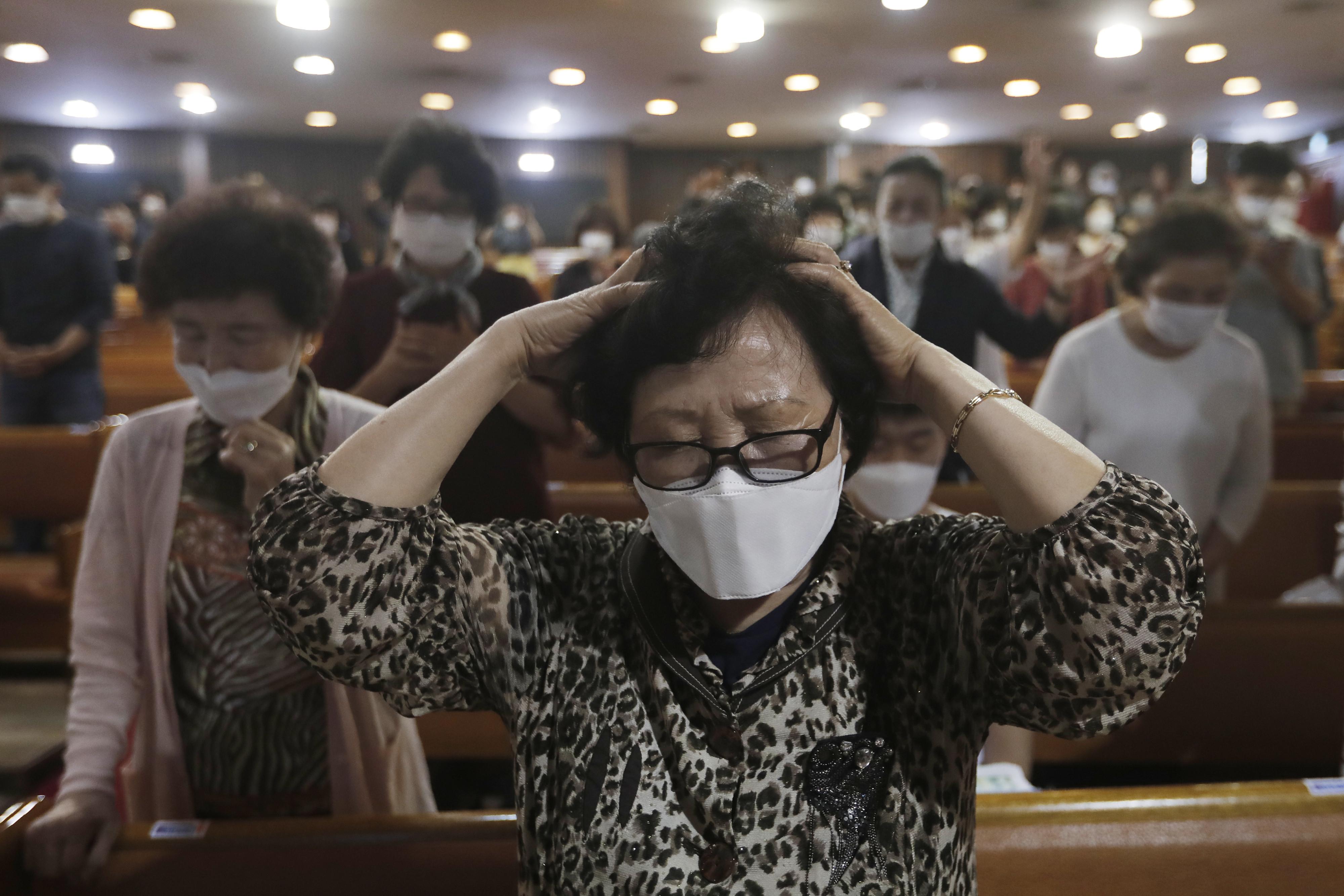 ▲▼南韓又傳出2宗教會傳播,透過信徒,再將新冠病毒傳給幼童。(資料照/達志影像/美聯社)