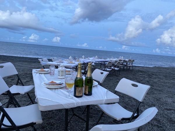 七夕情人節新去處!宜蘭內埤沙灘打造「海派餐桌」 星空下享受浪漫派對  |