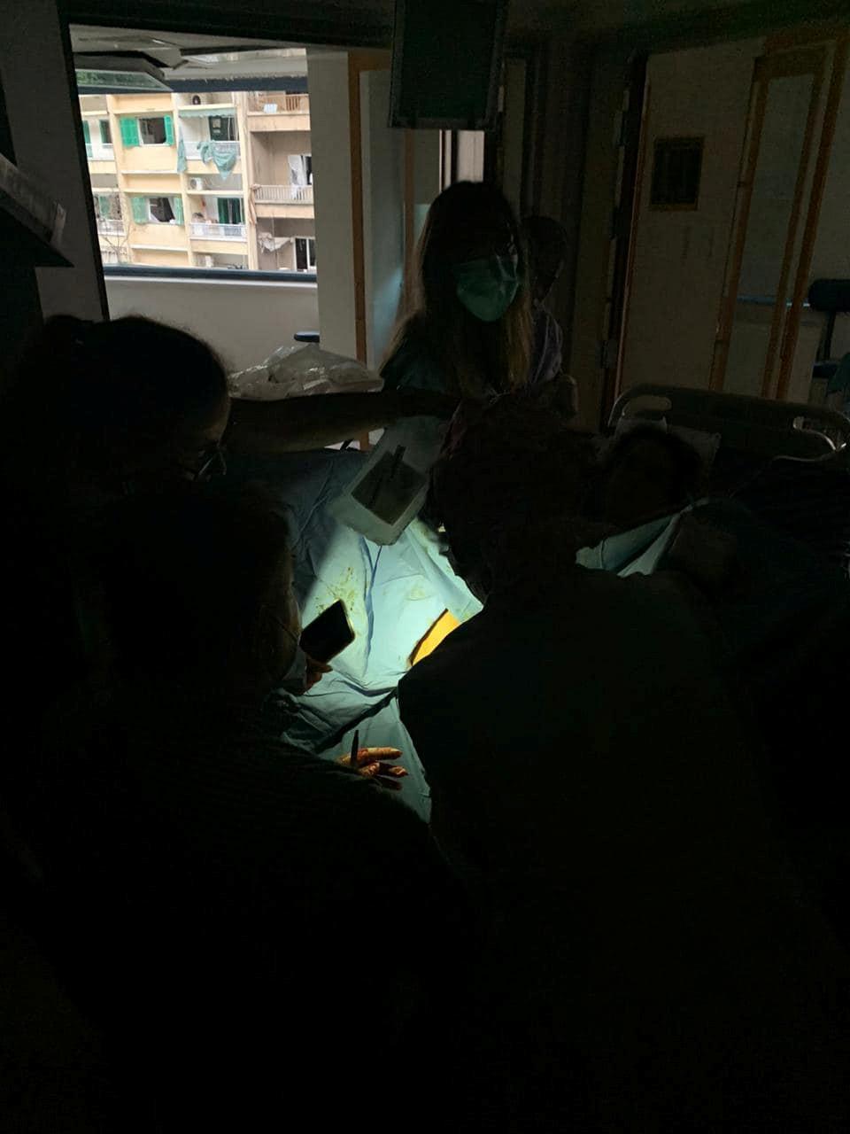 ▲▼黎巴嫩災難性爆炸,準媽媽危難中誕下小男嬰。(圖/路透)