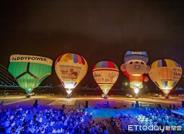 「爸氣」饗宴!熱氣球知本溫泉光雕音樂會  2萬2千人向父親致敬 | ET