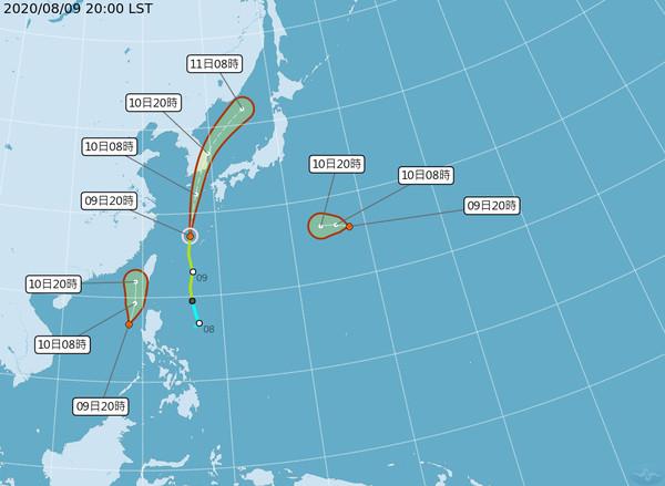 快訊/熱帶低壓家門口生成!明不排除成颱風「米克拉」 海、陸警可能齊發
