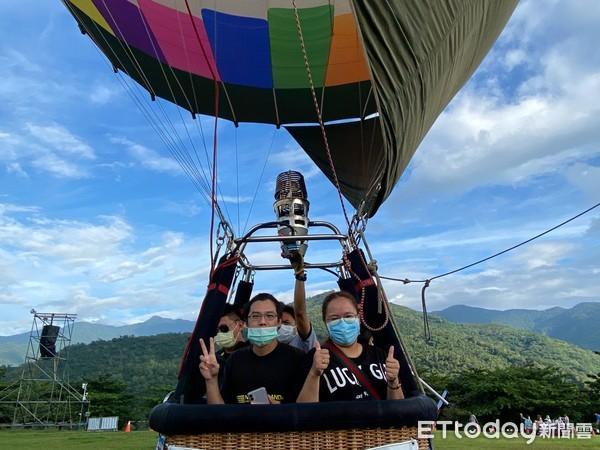 疫情加溫 台東縣府:10日起搭熱氣球強制戴口罩   ETtoday地方新