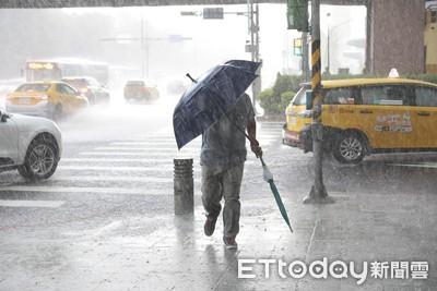 新一波水氣移入「全台有雨」時間點曝 降雨條件好、範圍很廣