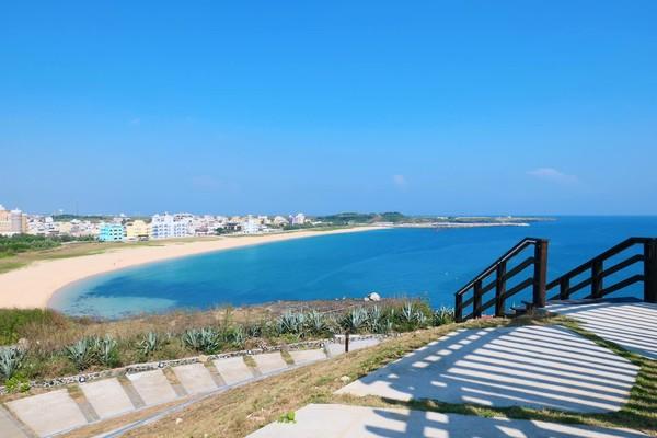澎湖本島必玩5大沙灘!360度看漸層藍色海 還有絕美秘境天堂路超好拍