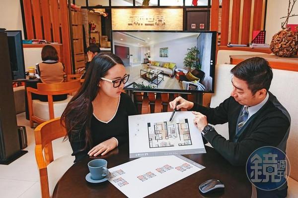 雙北地區房市在投資置產客催動下,回復往日榮景。