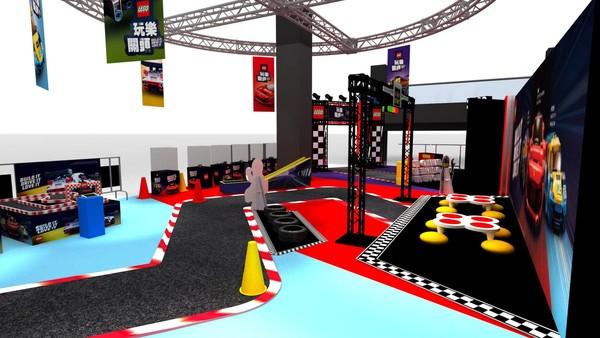 全台唯一「樂高賽車場」免費玩!挑戰完還能拿客製化駕照